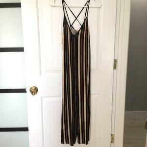 NWOT L.A. Hearts Midi Striped Dress